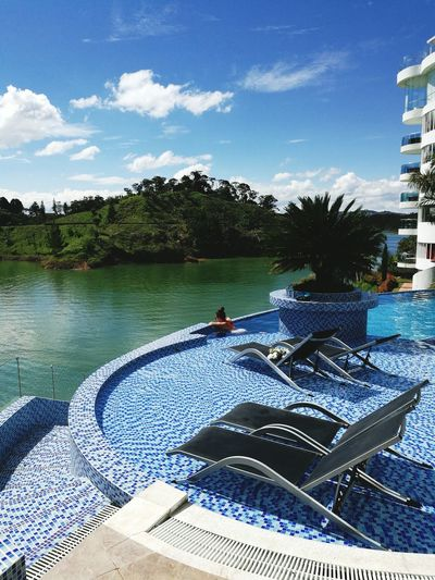 Water Swimming Pool Relaxation Day Adults Only Nature Outdoors Leisure Activity Sky Vacations One Person Adult Swimming Men Beauty In Nature People One Man Only