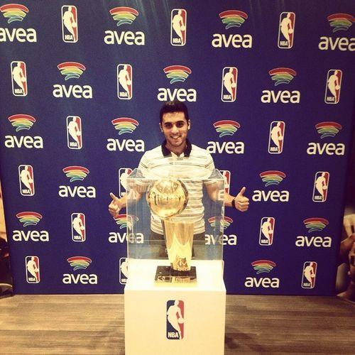 LarryOBrien NBA Sampiyonluk Kupası SanAntonioSpurs geçen yine amerikadayız :)