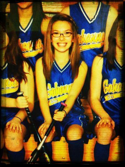 Hahaha. Throwwbaccck . Softball. And my blonde hair lolol