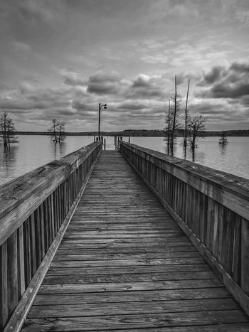 Lake Trees Louisiana Black & White Black And White Sky Clouds Enjoying Life Relaxing
