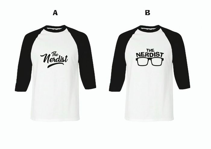 "New design ""the Nerdist"" White Background Tshirt Designer Tshirtprint Tshirtmaking"