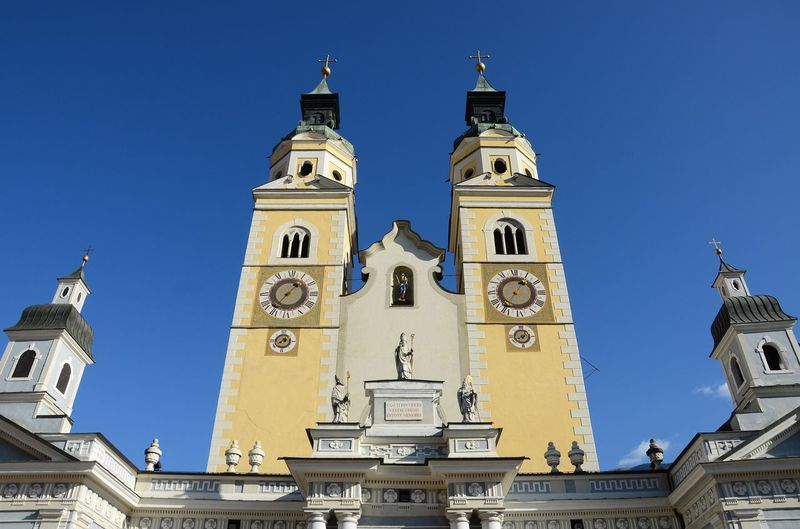 The Beautiful Cathedral of Santa Maria Assunta and San Cassiano in Bressanone. Brixen / Bressanone is a town in South Tirol in northern Italy. South Tyrol, Bolzano. Italy. Alto Adige Baroque Churches Bolzano - Bozen Bressanone - Brixen Cathedral Church Duomo Isarco Trentino Alto Adige Architecture Bressanone Cathedral Brixen  Building Building Exterior Built Structure Italy🇮🇹 Outdoors Religion South Tyrol Spirituality Tower