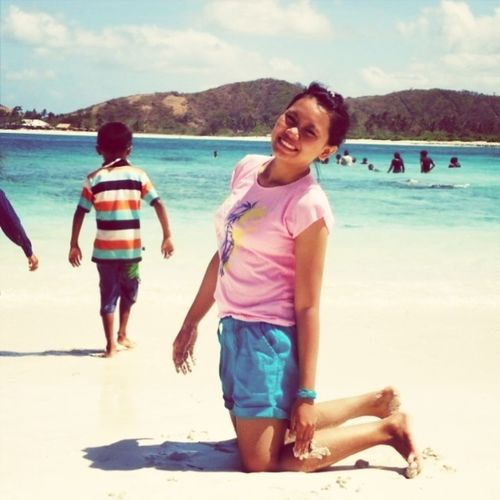 An Beach, kuta, lombok island, indonesia
