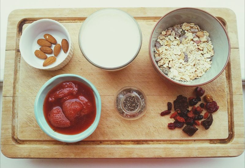Oatmeal Breakfast Healthy Food Clean Eating