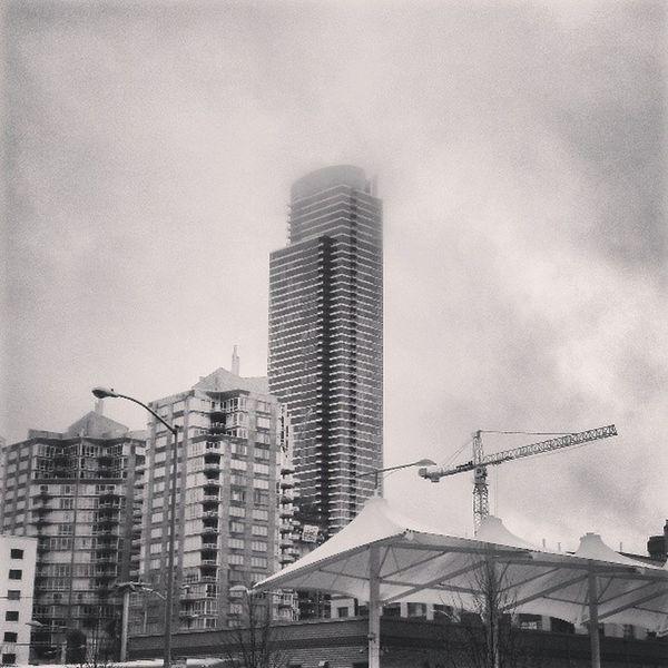 Scuze me while I kiss the sky... SF Rincon City Rain