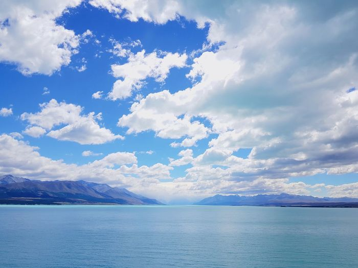 clouds Newzealand Photos Cloudpark Water Mountain Blue Lake Sky Landscape Cloud - Sky Horizon Over Water Calm Mountain Range Tranquil Scene Rocky Mountains Scenics Tranquility Countryside Idyllic Remote