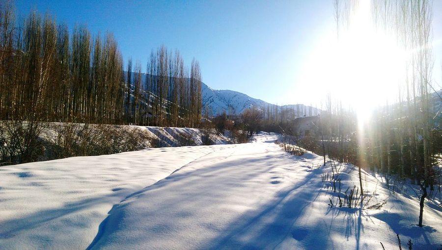 Snow Mountain White Camping Freshness