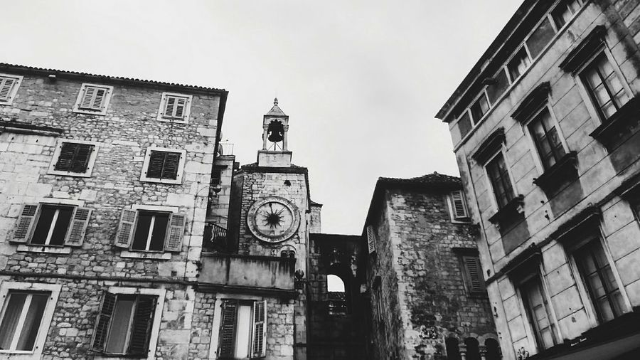 Split Croatia Black And White Photography Trip Photo Architecturelovers History Architecture Diocletian's Palace
