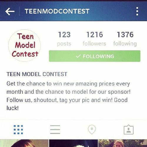 PLZ FOLLOW @teenmodcontest Teenmodcontest