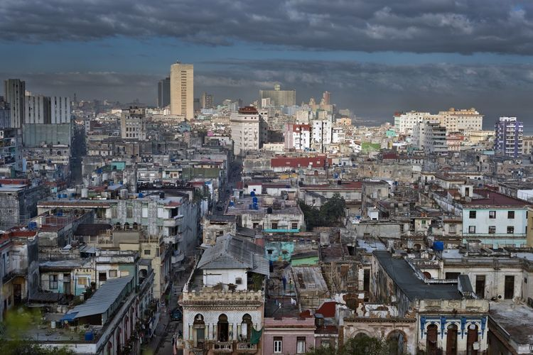 havana cityscape City Havana Havana, Cuba Architecture Building Built Structure Capital Cities  City Cityscape Community Crowded Day High Angle View Old Buildings Outdoors Residential District Sky Travel Destinations