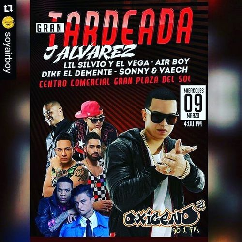"Repost @soyairboy with @repostapp ・・・ HOY 9 de Marzo estaremos con @oxigenoquilla RRRRRRRROPIENDO PAPI!!!! Muchas gracias por la oportunidad @boriszetta gracias Matatan 🔊🔊🔊💯💯💯🇨🇴🇨🇴🇨🇴🔊🔊🔊 DondeEstas Deluxeedition Llegoelmomento Like4like Like4like Tour Promo Showtime Djganstervid Daydjs Barranquilla Travel Travelingram Concert Events Barranquilla Djs Jajajajaja disque ""travelingram"" todo por un like!!! Jajajajaja Colombiano"