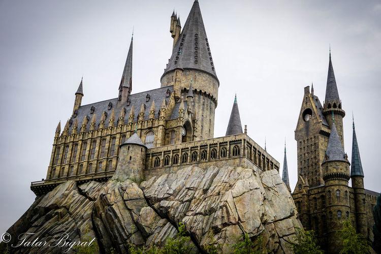 Architecture Castle Harrypotter Hogwarts Japan OSAKA Universal Studios  Universalstudiojapan USJ Wizard WizardingworldofHarryPotter
