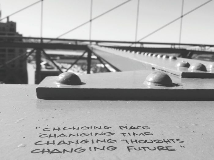Change... From