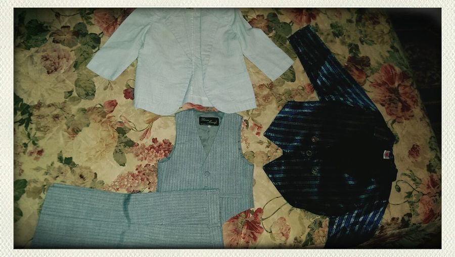 Some Clothes I use to wear when I was one year old! Can't believe my Mom kept them until now ^^ I'm so going to keep them until a Child of mine is born :)