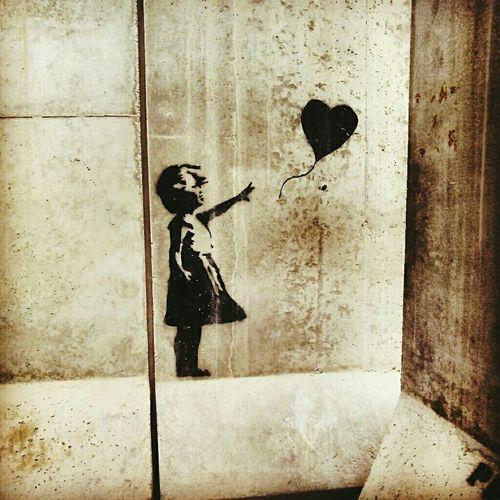 Kandahar Dreaming Afghanistan Hope? Stencil Metaphor Heaven Banksy