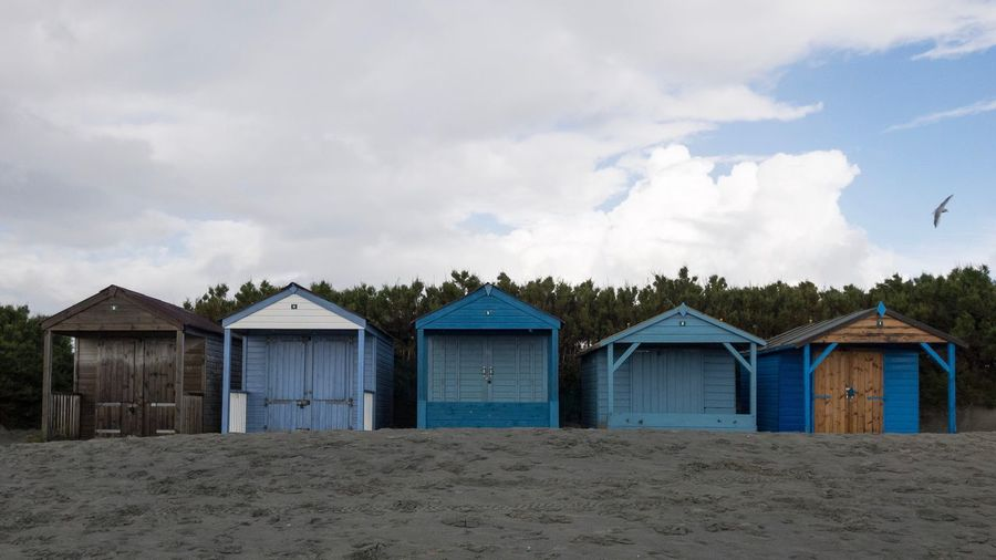 Beach Beach Huts Coast