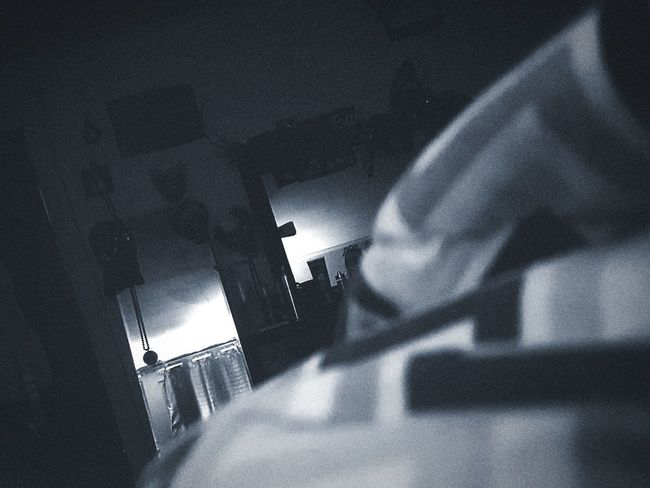 Bed Time Nightmare Alone Night Myview Sleepy CantSleep Low Angle View Adult