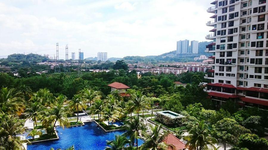 panorama From Armanee Condo Kuala Lumpur, Malaysia
