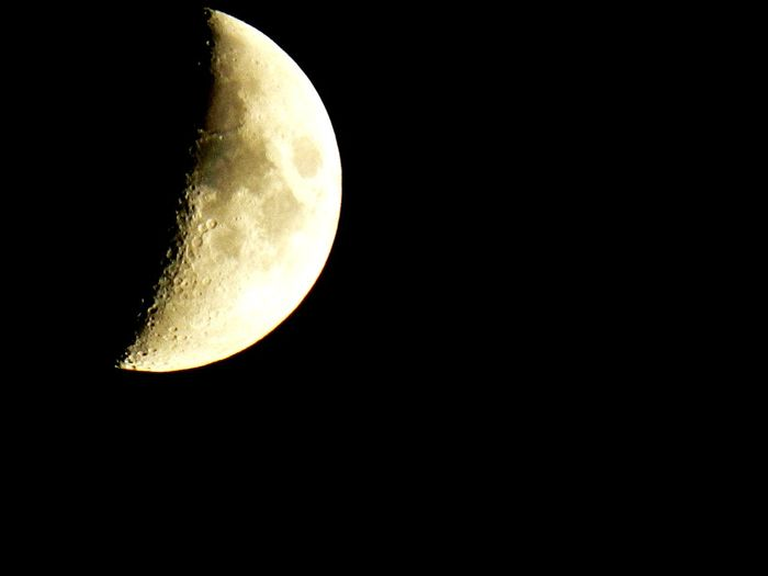 Moon. Discover  Photography Photoblog Photographer Photo Discovering Moonlight Moon Moon Space Exploration Clear Sky Crescent Copy Space Moon Surface Sky Solar System Astrology Sign Sky Only Astrology Semi-circle Space And Astronomy Orbiting