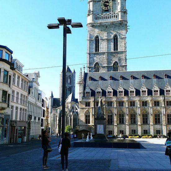 Ghent Ghentstagram Church Old Buildings