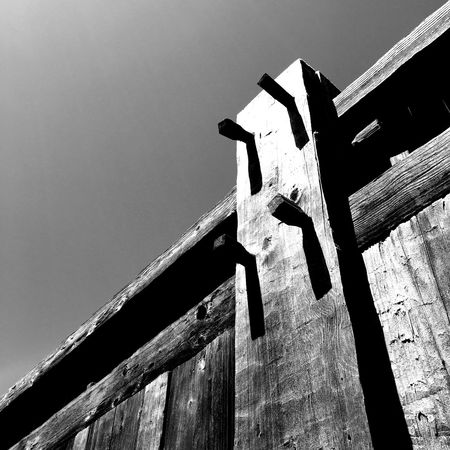 Wooden Fence Barricade Fortress Pegs Fort Ross The Architect - 2015 EyeEm Awards Amazing Architecture Creative Light And Shadow Shades Of Grey Seeing The Sights