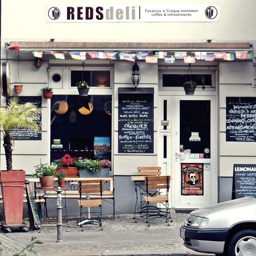 REDS DELI...best focaccia in town 🙌 Business Finance And Industry Food Typography & Design Architecture_collection Facades Streetphotography Views Berliner Ansichten EyeEm Gallery EyeEmNewHere Urban Lifestyle Berlin Berlinlove Neighborhood Map Kreuzberg Views From The Sidewalk Finding Parking Vintage Moments Colour Of Life Summer Vibes