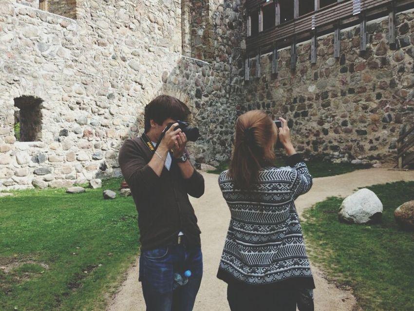 Taking Photos Sigulda Great Views Viewmatic