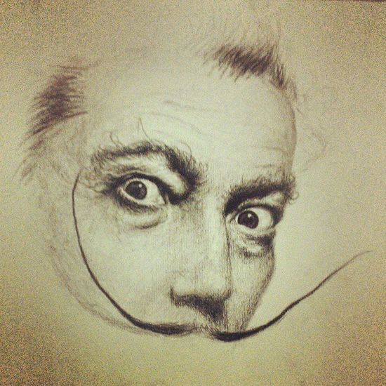 Finally finished...I am never really finished, I will always touch my art up. But we'll just say it's finished. :) Art ArtWork Artist Artofinstagram artistsoninstagram instaart hsc visualarts Australian practice finished like follow followforfollow likeforlike portrait sketch attempt @ photorealism Salvadordali famous instafamous instaboy instaguy