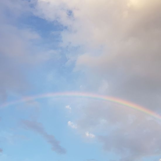 #Rainbow #AvaréBrazil #piece of sky #arco-íris #AvaréBrasil #pedaço do céu Refraction Multi Colored Spectrum Rainbow Double Rainbow Sky Cloud - Sky