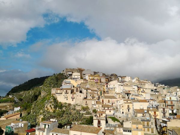 City panorama Caccamo Caccamo Castello Panorama Sicily