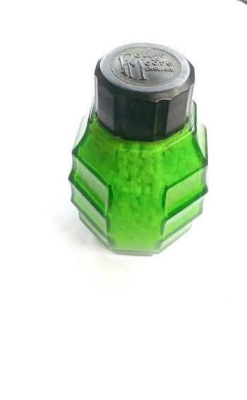 Lemon Lime By Motorola Glass Bottle Lemon Lime Smelling Salts Vintage Art Deco Bakelite Potter & Moore England