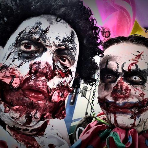 Zombiewalkvenice Zombie Zombiewalk  Zombiewalkvenezia Clown Clownzombie Clownkiller Happy HalloweenPagliacci Makeup