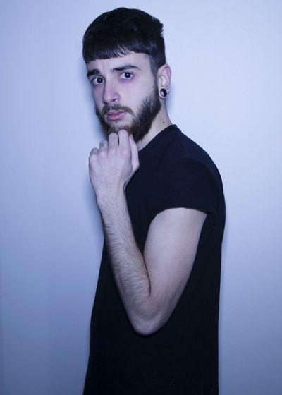 Man Beard Short Hair Hair Cut Scary Bad Feeling Feeling Sick Dark Circles Dark Portrait