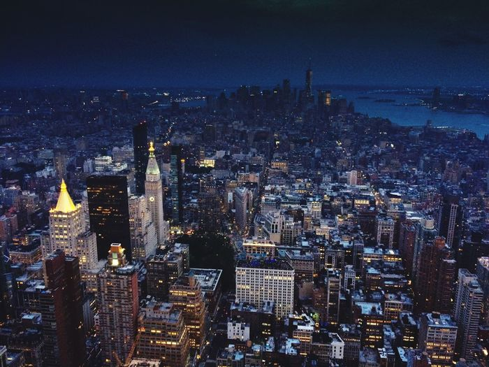 Cityscape Illuminated Skyscraper Night Travel Destinations Architecture City Building Exterior Built Structure Tall No People Aerial View Modern Growth Outdoors Downtown Sky