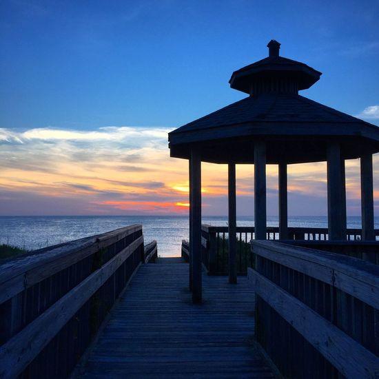 Check This Out Sunrise Beach Gazebo OBX Visitnc Travel ☀️🌾🌊