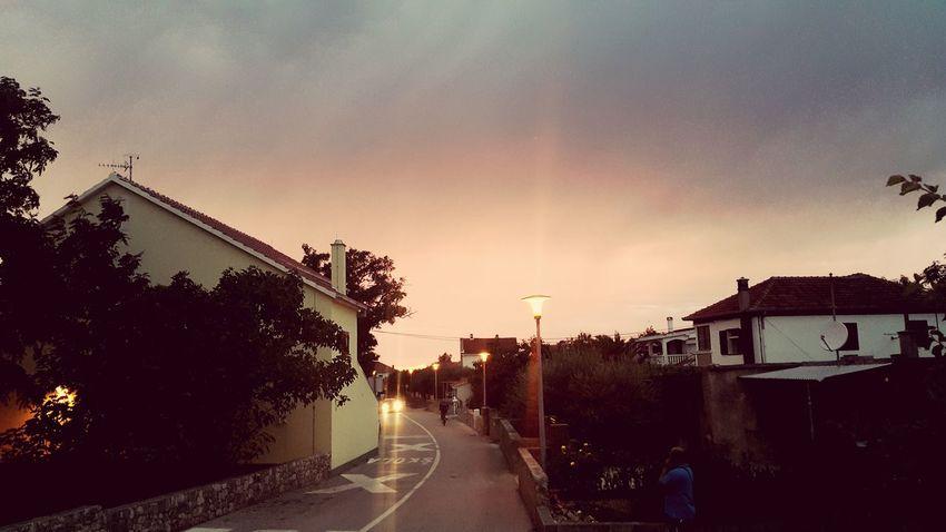 Croatia Dalmatia Sunset