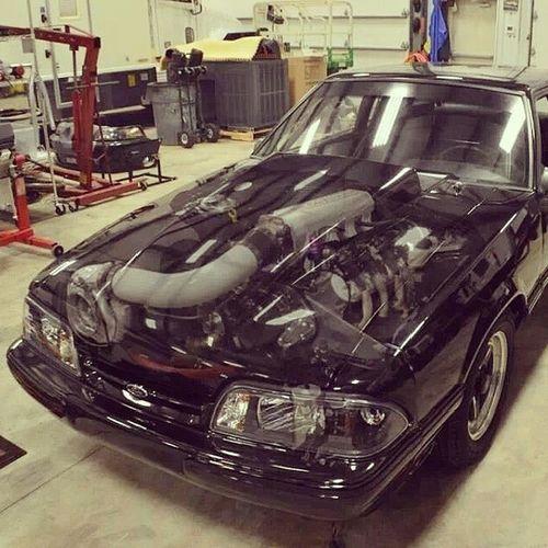 Hmmmm Turbo Fox, I think yes ;D Mustang Turbo Foxbody Fox body