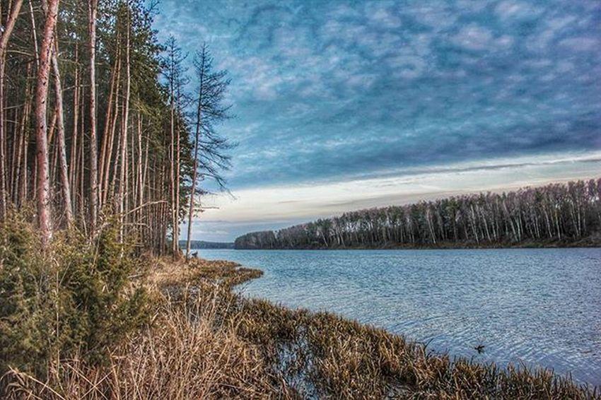 беларусь Природа весна Дорога небо фото март Машина Belarus Nature Road Sky Spring Photo Follow Car Закат река неман Dawn River Neman