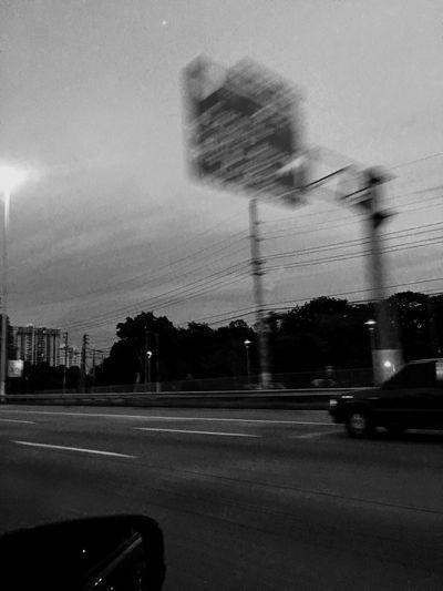 Black & White Hello World Different Perspective EyeEm Best Shots Journey Home EyemPuertoRico Highway