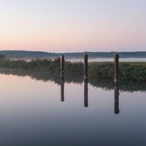 Brandenburg Havelland Germany Hohennauener See Naturpark Westhavelland Beauty In Nature Day Lake Nature No People Outdoors Reflection Scenics Sky Sunrise Sunset Tranquil Scene Tranquility Tree Water Waterfront