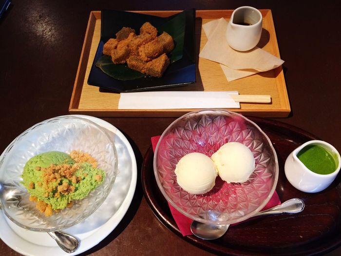 伊右衛門 京都 Kyoto Japan Greentea Sweets Yummy 伊右衛門サロン 抹茶