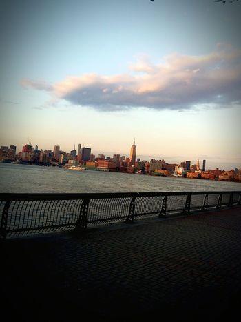 In hoboken admiring NYC😍 NYC Skyline NYC LIFE ♥