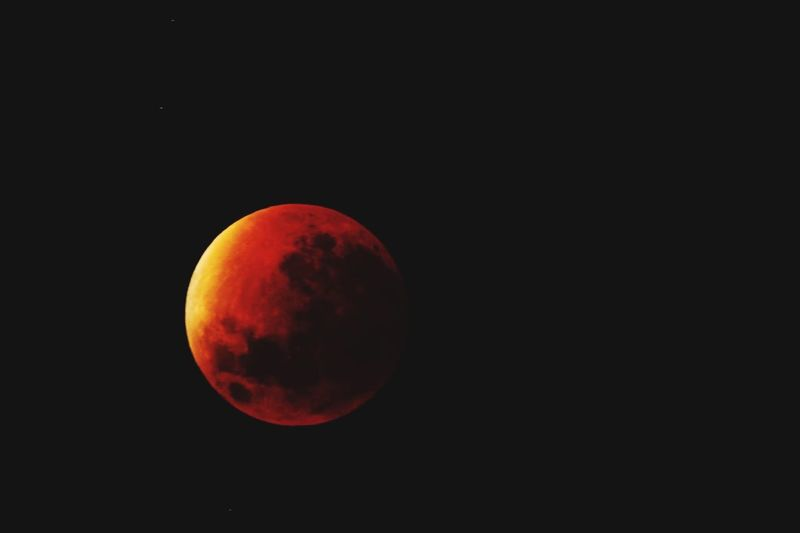 Red Astronomy Outdoors Black Background Space Moon blood moon