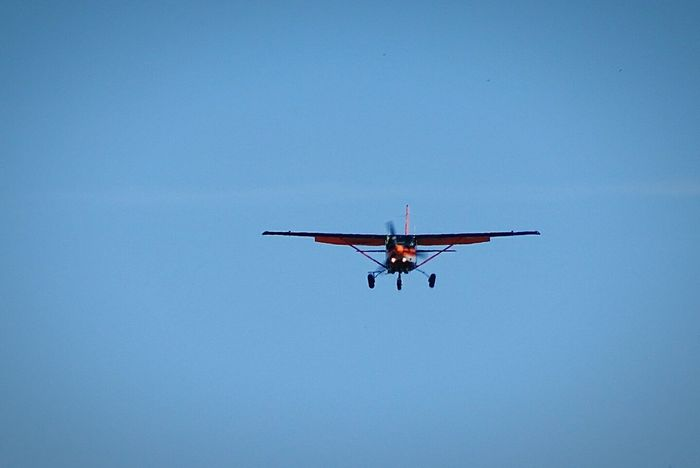 Flying Airplane Avions Aviation Atterrissage Vol Altitude