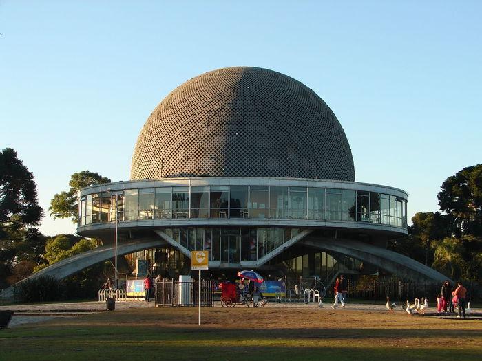 Buenos Aires Planetarium EyeEmNewHere Architecture Building Exterior Built Structure Clear Sky Day Dome Futuristic Modern Planetarium Travel Destinations