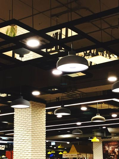 Illuminated Lighting Equipment Low Angle View No People Pendant Light Built Structure Architecture Indoors  Night Table Food And Drink Food Courts Decoration Lighting Decoration Welcome To Black