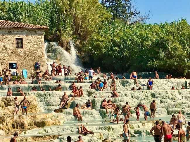Saturnia Crowd Large Group Of People Real People Group Of People Tree Plant Nature Lifestyles Sunlight Outdoors Enjoyment Park Water Architecture Leisure Activity EyeEmNewHere