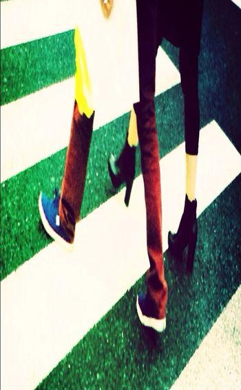 New Style3 STRANGE ASPECTS Walking Glitch