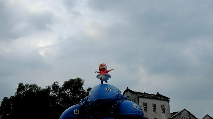 Animation Animation Character Exhibition Hayao Miyazaki Japan Japanese  Low Angle View Miyazaki MOVIE Outdoors Ponyo