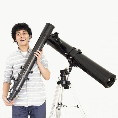 Sesekali foto sama bebeb~ Celestron Telescope Refractor Reflector